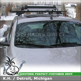 2006 Chevrolet HHR Roof Rack & Snowboard-Ski Rack with Thule 45050 Crossroad and 91725 Flat Top