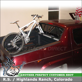 2007 Honda Ridgeline Truck Bike Rack with Thule 822XT Bed Rider Pickup TruckBed Bike Rack