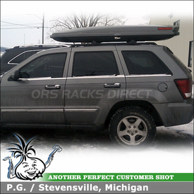 2007 Jeep Grand Cherokee Cargo-Luggage Box for Skis and Snowboards