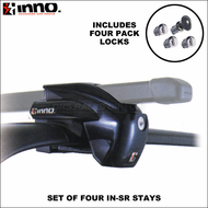 2009 Inno IN-SR Stays - Black (set of 4) -  Inno Factory Rails Roof Rack System Component