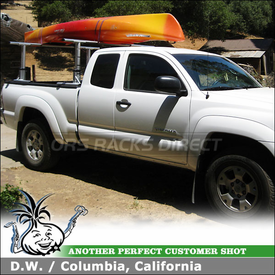 2010 Toyota Tacoma Truck Rack using Thule 422XT Xsporter & XK1Adapter Kit