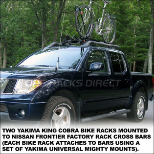 2010 Yakima King Cobra Upright Mount Bike Racks - 8002084