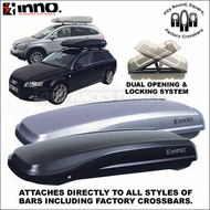 2011 Inno BR440 Ridge Wide Cargo Roof Box - Factory Rack Compatible Cargo Carrier Box