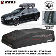 2011 Inno BRA120 Flex Top 18 Roof Bag - Factory Rack Compatible Car RoofTop Luggage Bag