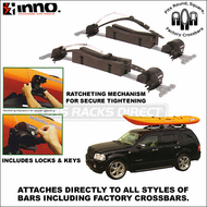 2011 Inno INA444 SUP / Kayak / Canoe Locker - Factory Rack Compatible Locking Canoe, Kayak & SUP Carrier