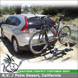 2012 Honda CRV Platform Hitch Bike Rack for 2 Inch Receivers - Thule 916XTR T2
