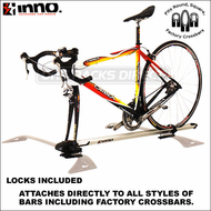 2012 Inno INA381 Fork Lock Bike Rack - Mounts Directly to Any Crossbars Including Factory Racks