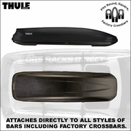 2012 Thule 602 Ascent 1100 Roof Box - Thule Ascent Cargo Carrier Series