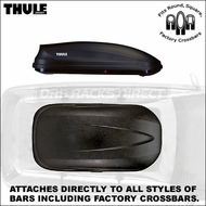 2012 Thule 603 Ascent 1500 Roof Box - Thule Ascent Cargo Boxes Series
