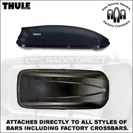 2012 Thule 604 Ascent 1600 Roof Box - Thule Ascent Car Roof Boxes Series
