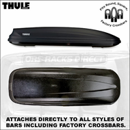 2012 Thule 605 Ascent 1700 Roof Box - Thule Ascent Cargo Boxes Series