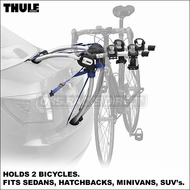 2012 Thule 9006 GateWay 2 Trunk Bike Rack for Coupe, Sedan, Hatchback, Minivan, SUV etc.