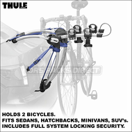 2012 Thule 9009 ArchWay 2 Trunk Bike Rack - Includes All Locks & Fits Coupe, Sedan, Hatchback Wagon, Minivanetc.