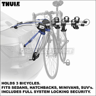 2012 Thule 9010 ArchWay 3 Bike Trunk Rack - Includes All Locks & Fits Coupe, Sedan, Hatchback, Minivan, SUV etc.