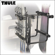 2012 Thule 987XT Hitch Snowboard & Ski Rack for transporting up to 6 Pairs of Skis or 4 Snowboards