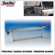 2012 TracRac Sliding Cargo Divider & Window Guard (23000 - 23001) - For TracRac G2 Sliding Truck Rack & UtilityRac