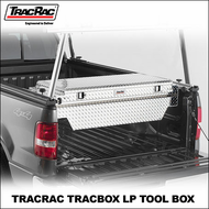2012 TracRac TracBox LP Tool Box  (25220 - 25221) - Pickup Truck ToolBox for TracRac Sliding Base Rails