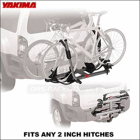 2012 Yakima HoldUp Hitch Bike Rack for 2 inch Hitches - Platform Bike Tray Style Hitch Mount Carrier - 8002433