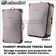 2013 Chariot Wheeled Travel Bags (Single and Double) - Storage Transport Bags for All Chariot Carriers