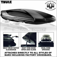 2013 Thule 611 Boxster Roof Box - Factory Rack Compatible Premium Cargo Box