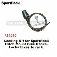 2013 (Thule Racks) SportRack A32020 Hitch Bike Rack Cable Lock