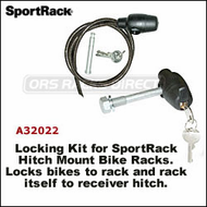 2013 (Thule Racks) SportRack A32022 Hitch Pin Lock & Bike Cable Lock Kit
