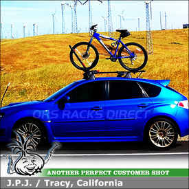 Bike Rack for 2008 Subaru Impreza WRX STI Factory Rack Crossbars