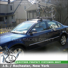 Bike Roof Rack for 2005 VW Passat 4-door sedan