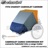 Chariot Cabriolet Cargo Conversion Kit - Cargo Trailer Conversion Kit for Cabriolet Chassis