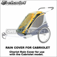 Chariot Cabriolet Rain Cover (20100714) - Protective Rain Cover for Cabriolet Child Carrier