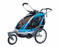 Chariot Chinook 1 Baby Jogger-Baby Stroller (Chinook1 CTS Chassis w/ Front Wheel) - Urban Chariot Carriers Child Strollers, Joggers