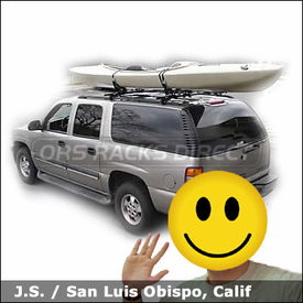 tahoe kayak rack