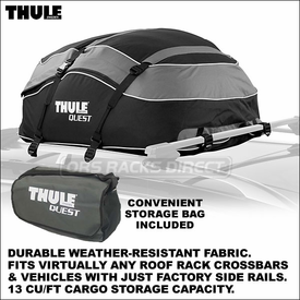 CLOSEOUT SALE Thule 846 Quest Cargo Bag for All Types of Car Roof Racks | Thule Cargo Roof Bags