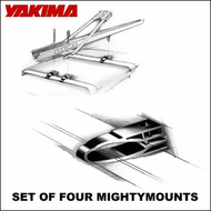 CLOSEOUT SALE Yakima Mighty Mounts (Horizontal) Clamps for Converting Factory Racks to Multi-sport Car Racks
