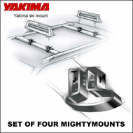 CLOSEOUT SALE Yakima Mighty Mounts (Vertical) Adapters for Converting Factory Racks to Multi-sport Car Racks
