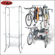 Delta Cycle Basement / Garage Bike Racks - 2012 Delta Cezanne 4 Bike Storage Rack - RS7003