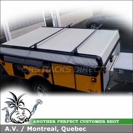 Fleetwood Pop Up Camper Roof Rack