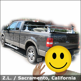 Ford F150 Truck Rack with Thule 422XT Xsporter