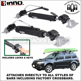 Inno Racks INA445 INA446 SUP Kayak Canoe Locker Now Available