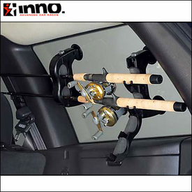 Inno Racks ZR223 Window Mount Fishing Rod Rack - Inexpensive, Cheap Fishing Rod Holder Solution