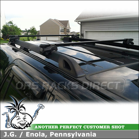 Inno Rooftop Car Rack for Raised Side Rails on a 2007 Ford Expedition