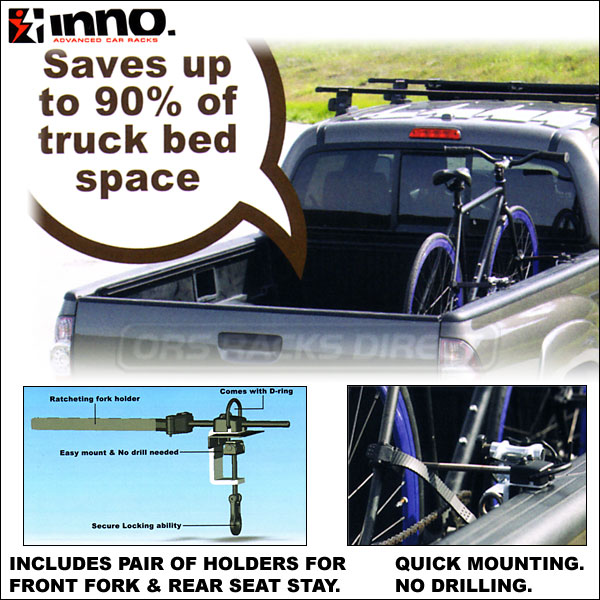 Bike Racks For Trucks Yakima Inno Velo Gripper Bike Racks