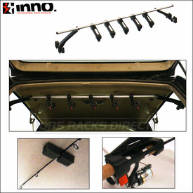 Inno ZR351 Space Saver Fishing Rod Rack - Fishing Pole Holder for Smaller Vehicles