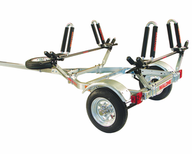 Malone MPG461G2 MicroSport Trailer Package for Two Kayaks