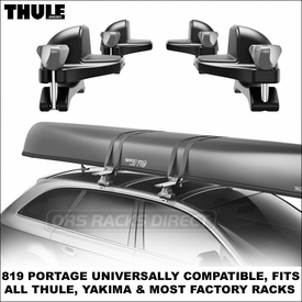 New-for-2014 Thule 819 Portage Canoe Rack Now Available
