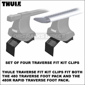 New Thule Racks Fit Kits - 1624 1620 1619 1618 1616 1612 1604 1601 1600 1592 Traverse Fit Kit Clips