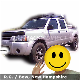 Nissan Frontier Truck Rack with Thule 400XT Aero Roof Rack System