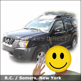 Nissan Xterra with Yakima MegaWarrior Roof Basket