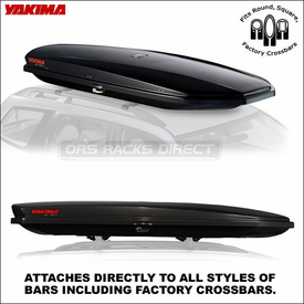 Onyx Color Yakima SkyBox LoPro Cargo Box Now Available