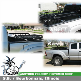 Pickup Truckbed Rack and Gear Basket for 2007 Toyota Tacoma